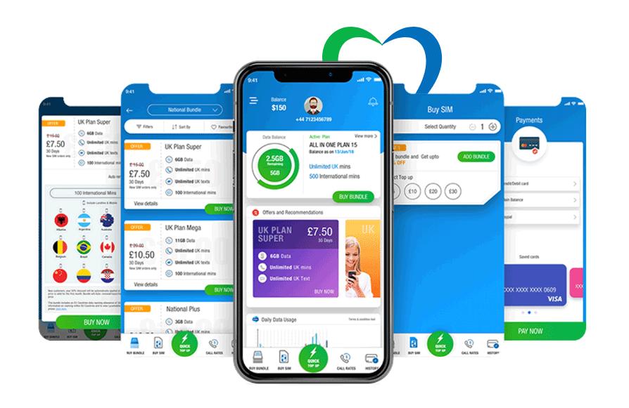 Lyca mobile app